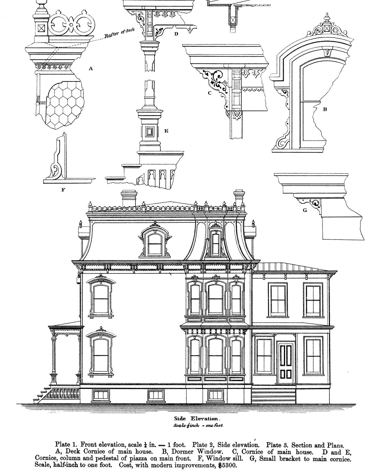 Second Empire Style House Plans Beauteous in 2019