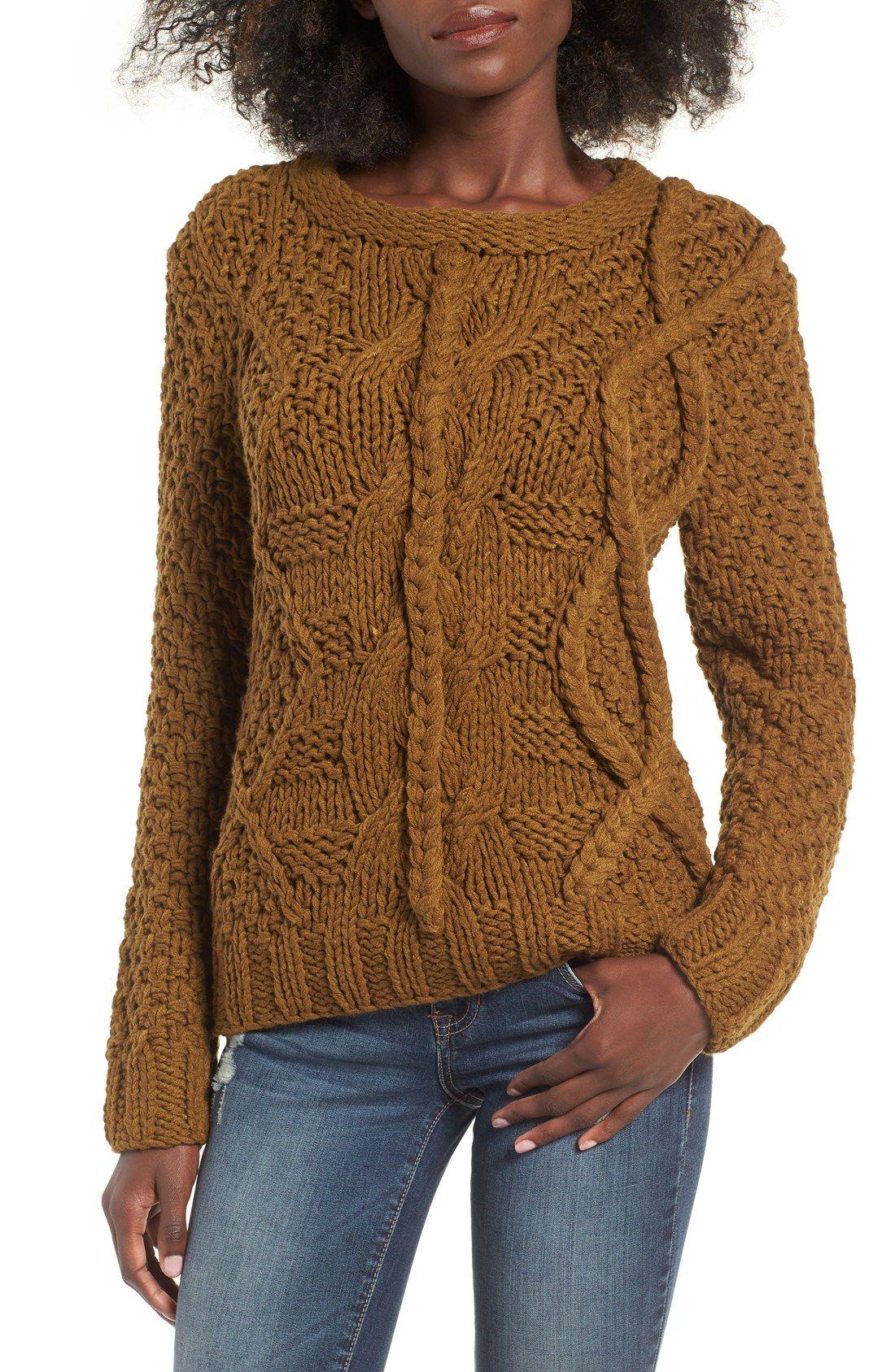 CUTE Chunky Knit Sweater | Fall Style | Pinterest | Knits ...