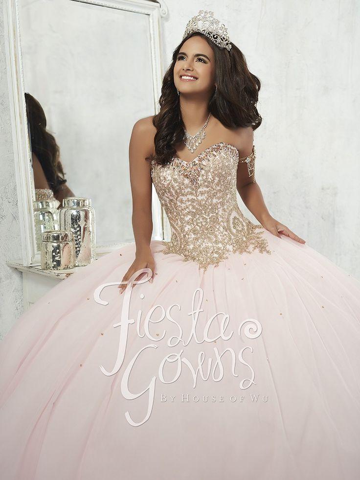 5908f5d96ef Image result for rose gold quinceanera dresses