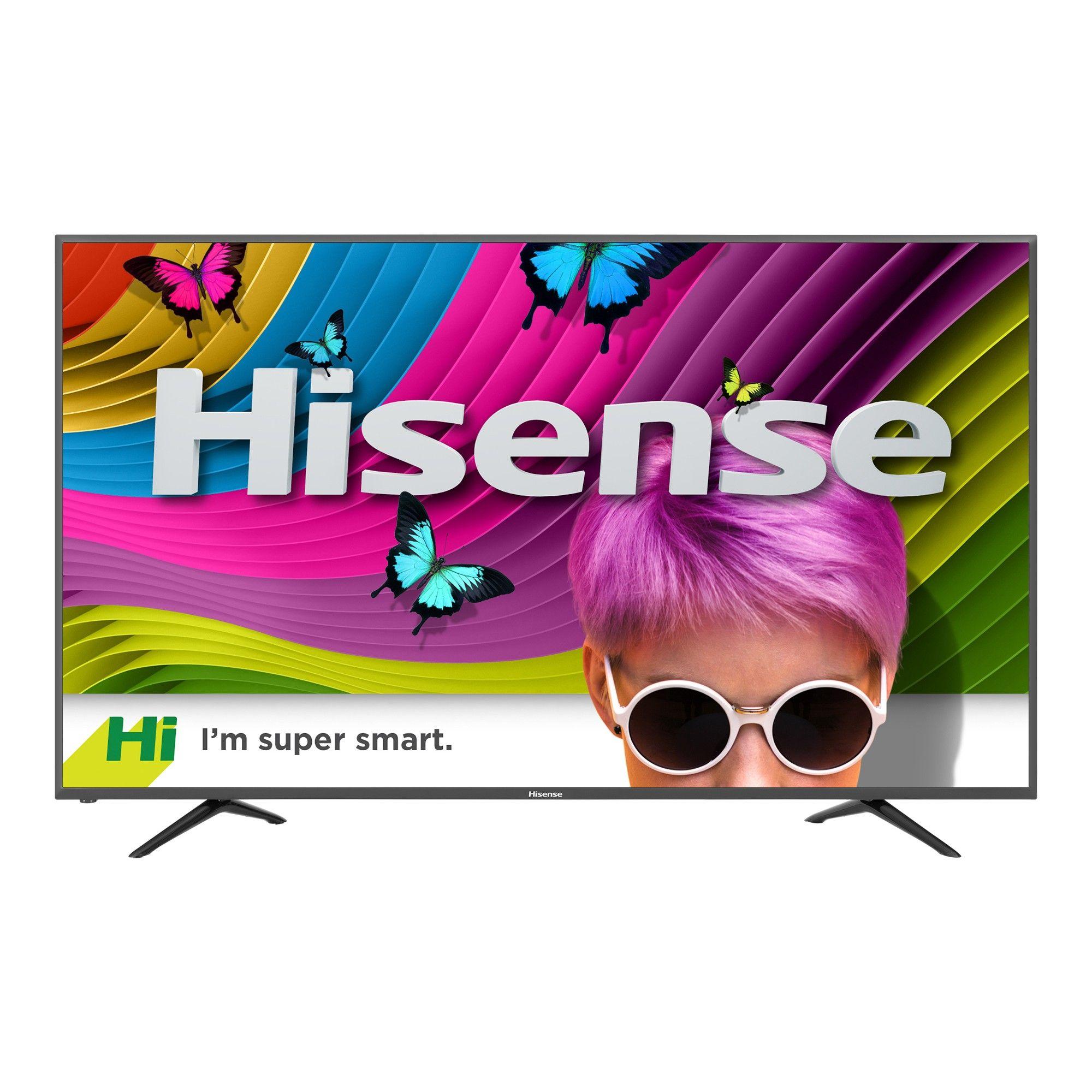 "Hisense 65"" 4k Ultra HD Smart TV Black (65H8C) Smart"