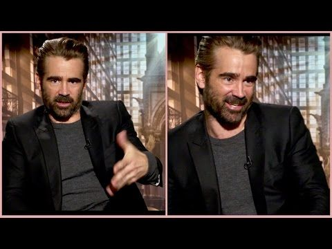 Why Colin Farrell freaked out more turning 25 than 40, his sons, being famous & Fantastic Beasts - YouTube