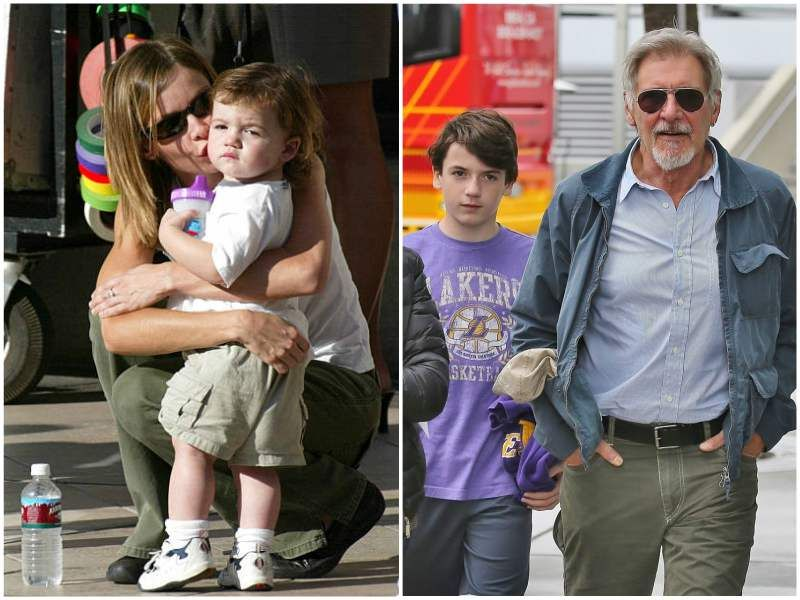 Veteran Actor Harrison Ford S Family 5 Kids And Wives Com Imagens