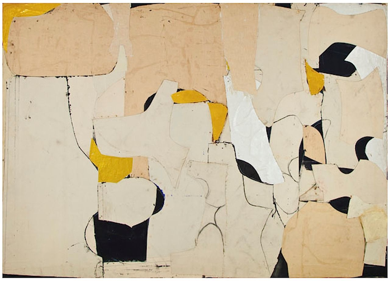Conrad Marca-Relli (1955) | Abstract painting, Art, Collage art