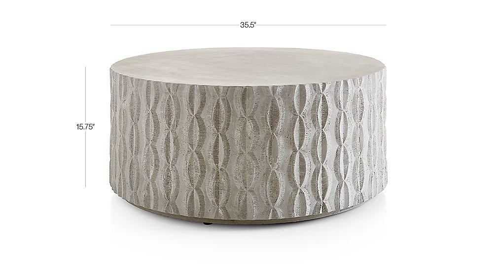 cast concrete coffee table reviews