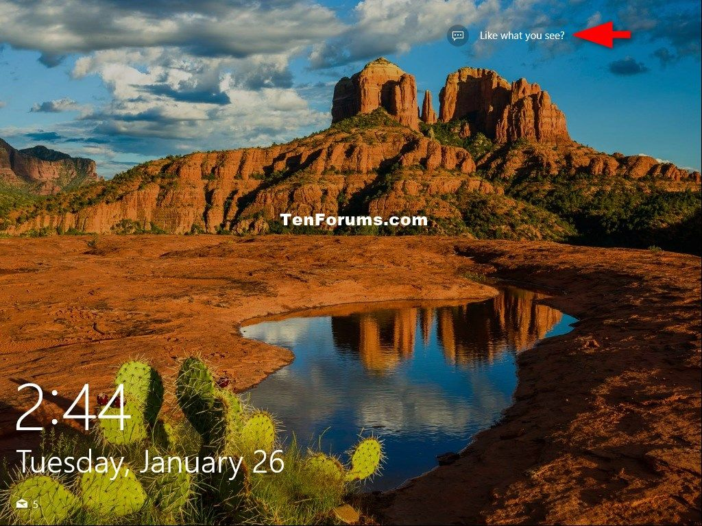 How to Find and Save Windows Spotlight Background Images