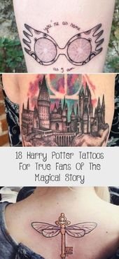 Photo of Harry Potter Couple Tattoos #coupletattoo #tattooforcouple ★ Unique, small or …