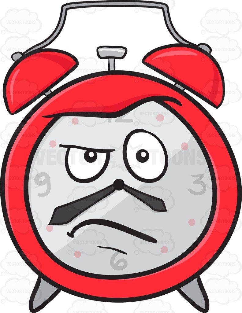 Angered Look On Alarm Clock Emoji Kiss Emoji Crying Emoji Alarm Clock