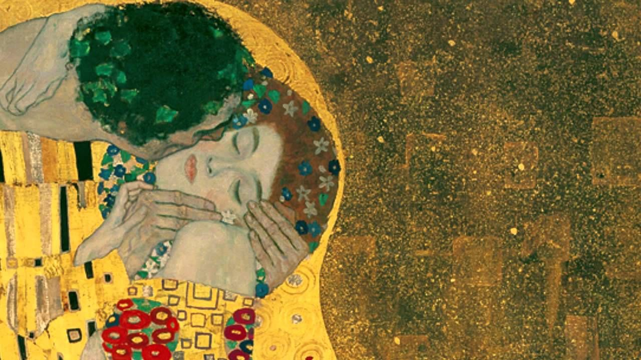 8 Art Elements : Gustav klimt the kiss art related videos