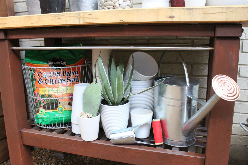 Potting Bench From Ikea With Everything We Need The Cavender Diary