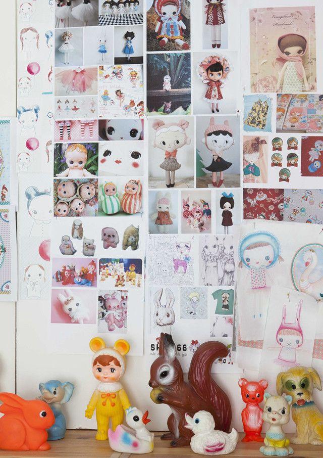101 BeCreative-Margo Slingerland-werkplek