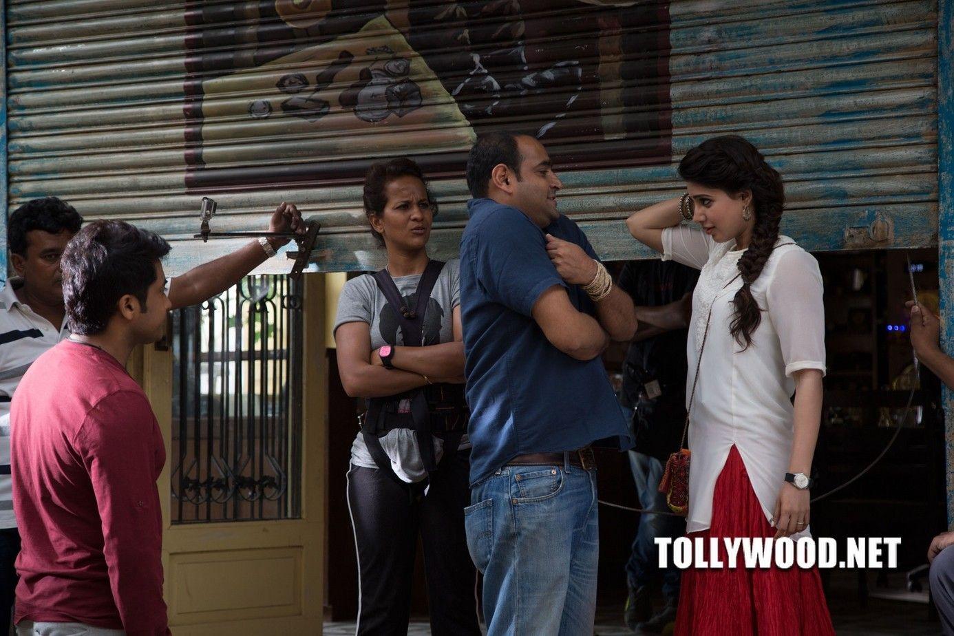 Surya 24 Movie Working Stills