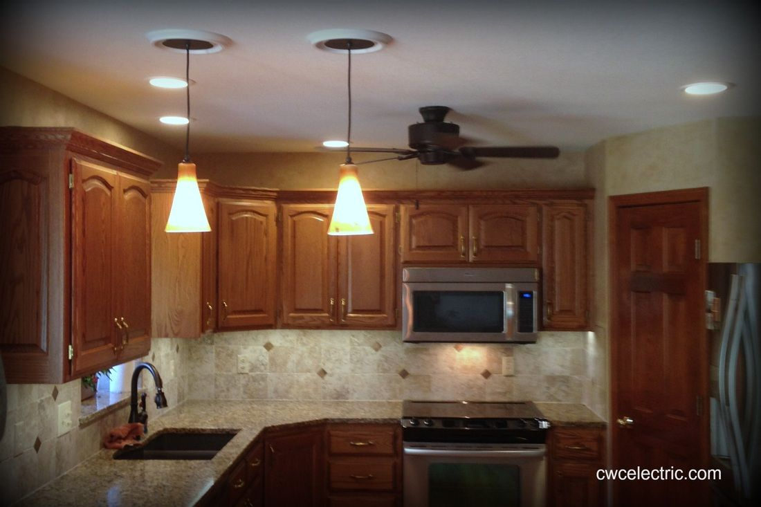 Photo Gallery Cwc Electric Topeka Ks Electrical Contracting Services Cwc Electric Kitchen Lighting Photo Galleries Electricity