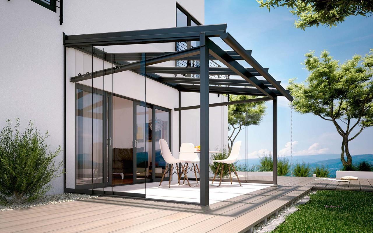 Terrassenüberdachungen Aus Metall Und Glas ~ Schiebetüren und systeme aus glas und aluminium
