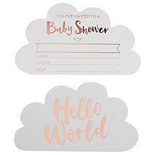 Buy ginger ray hello world baby shower invitations pack of 10 baby shower gifts ideas baby shower presents filmwisefo
