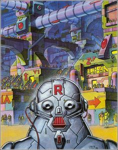 Robot in Future City