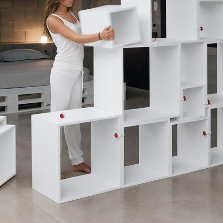 Assemblage shelves by seletti monoqi pinterest for Rayonnage modulaire ikea