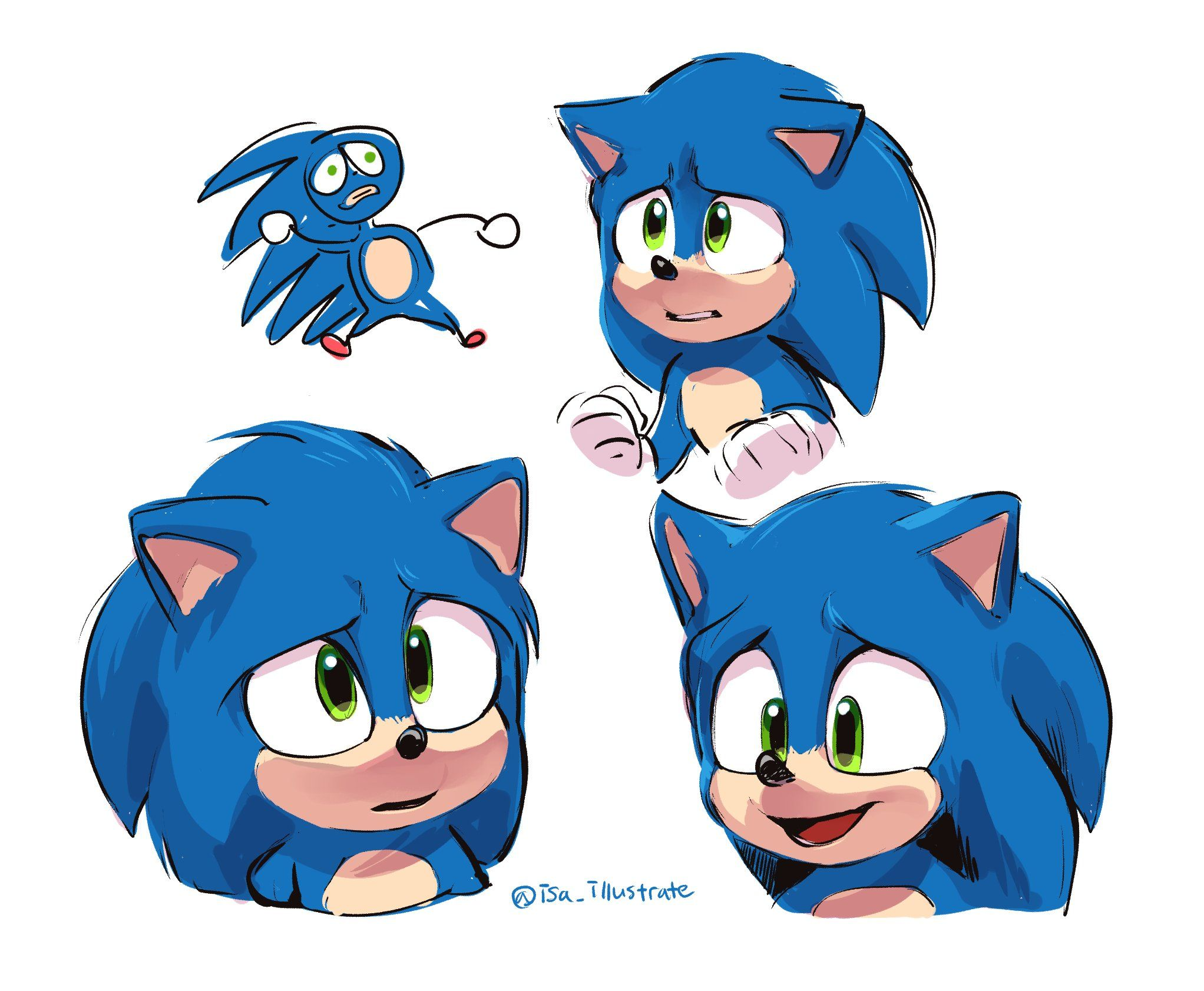 이사𝗜𝘀𝗮 On Twitter In 2020 Sonic Hedgehog Movie Sonic Fan