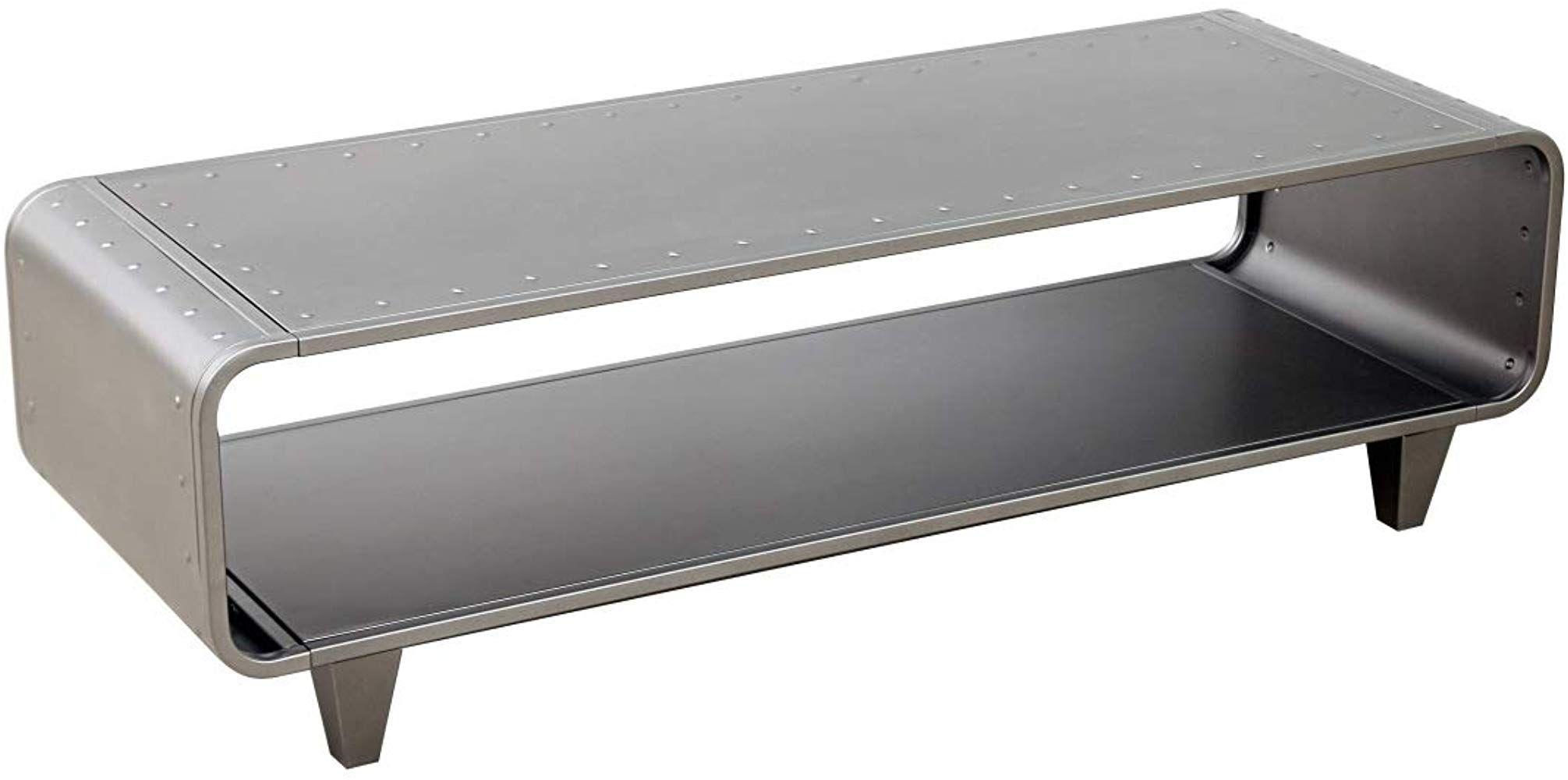 Dipamkar Tv Schrank Tv Lowboard Tv Mobel Stander Schrank Fernsehtisch Multifunktions Tisch Industrie Stil Geburstet Metall Tv Mobel Fernsehtisch Tv Schrank