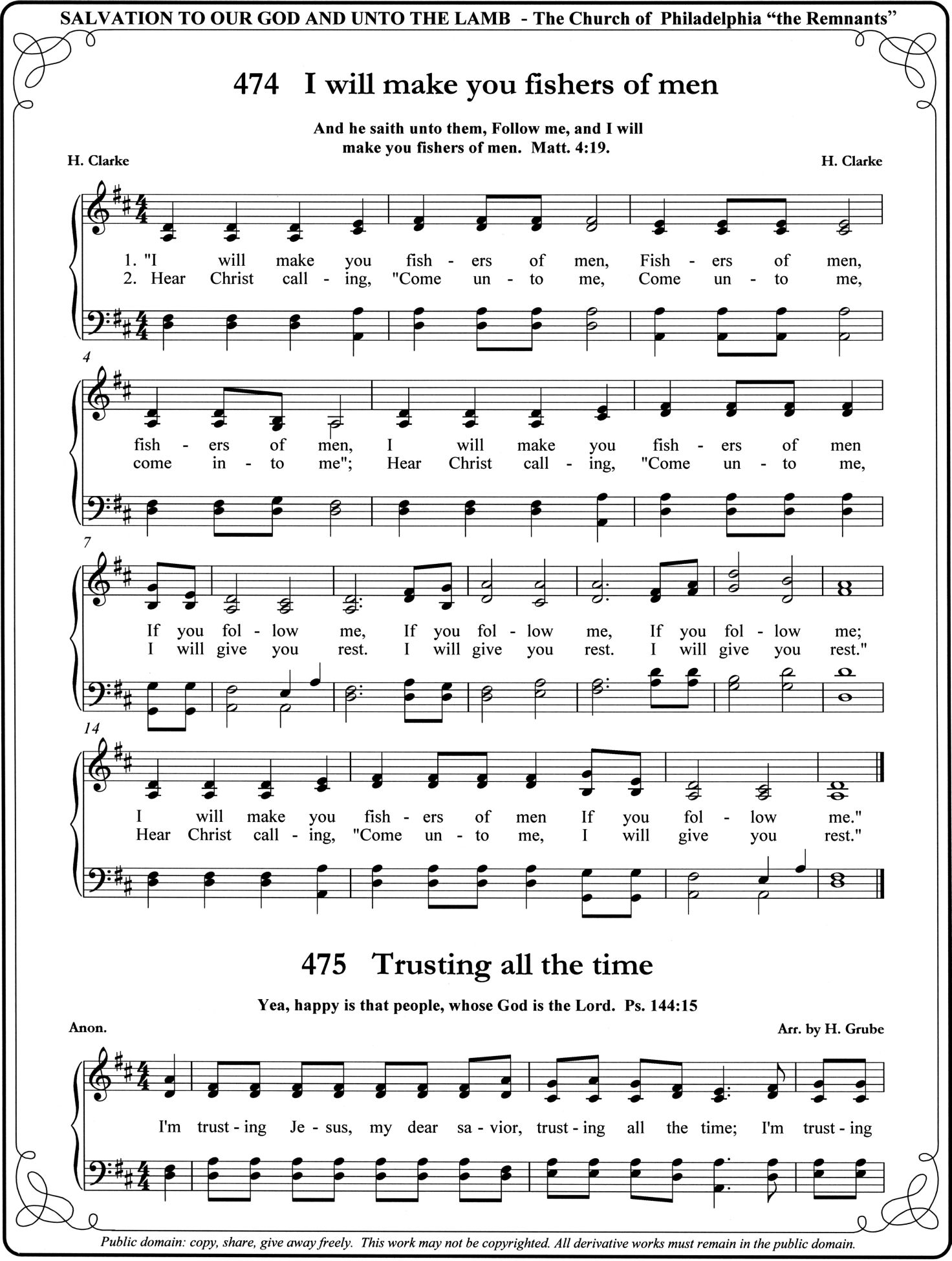 Easy Bible Songs I Will Make You Fishers Of Men