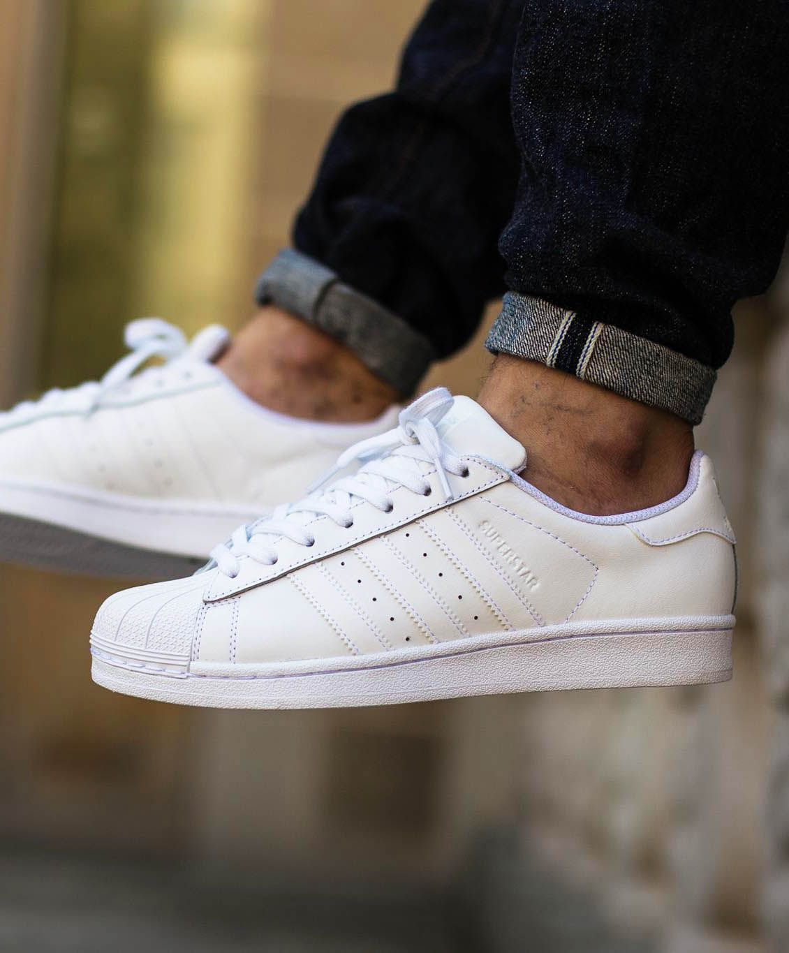 216d41a24e67 ADIDAS Shell Toe Foundation  triplewhite  adidas  superstar ...