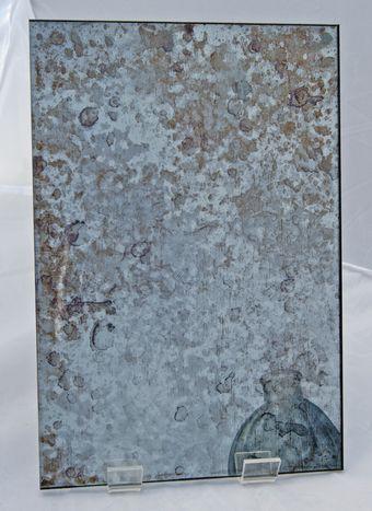 Bronze Tarnish Antique example | Antique mirror glass ...