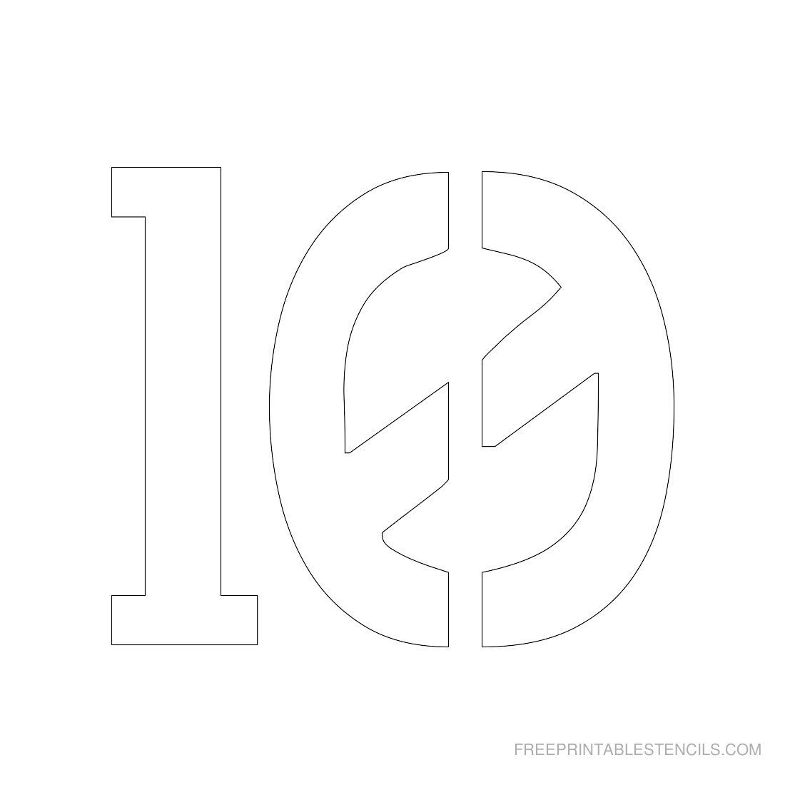 picture relating to 3 Inch Number Stencils Printable Free identify Printable 3 Inch Variety Stencils 1 10 Cost-free Com brody boy