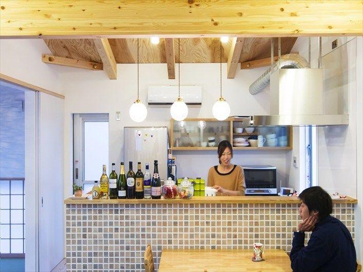 家事と会話が楽しくなるお家 カウンターデザイン 家 リビング キッチン