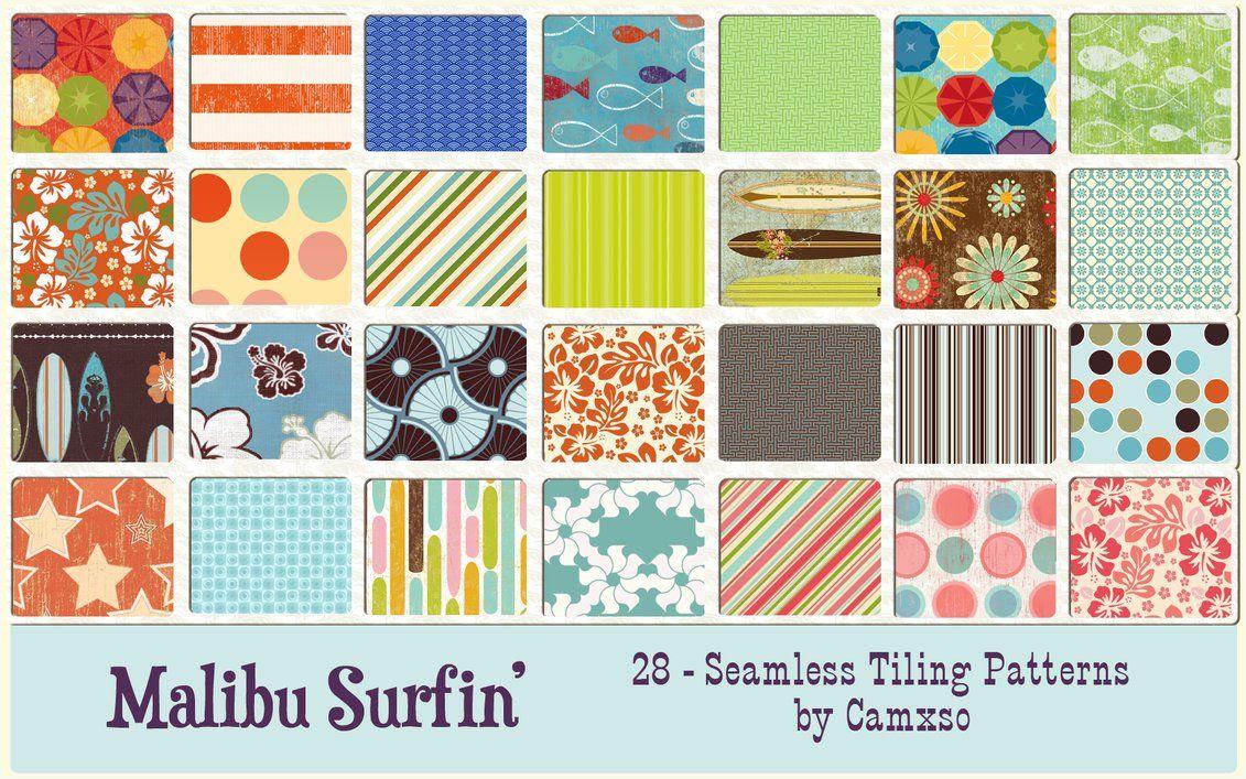 Malibu Surfin' by ~Camxso on deviantART   Patterns,Textures,and