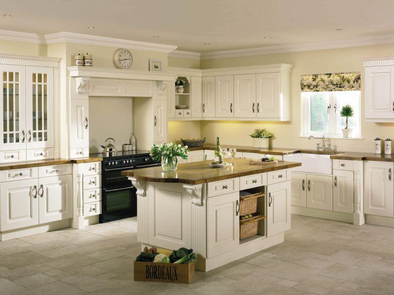 Best Prague Ivory Vinyl Kitchens Northern Ireland Kitchen 400 x 300