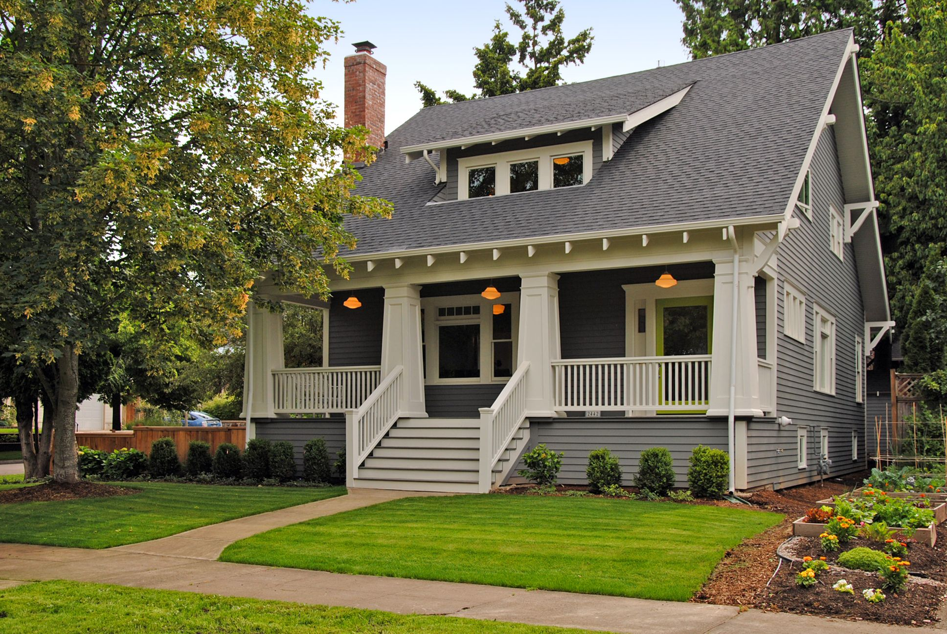 45th ave curb appeal pinterest craftsman bungalow for California bungalow vs craftsman