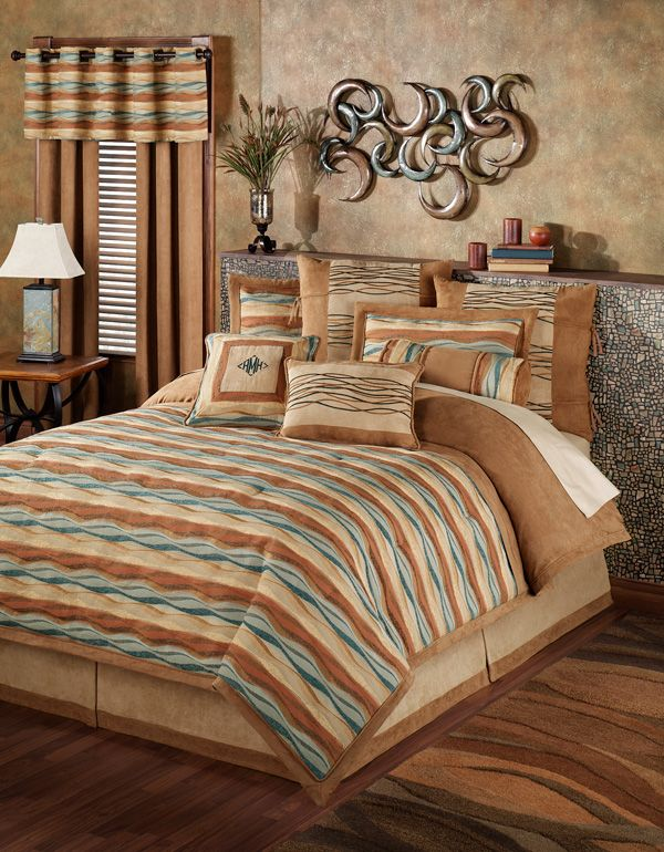 Oasis Wave Striped Comforter Bedding In 2019 Comforters Designed
