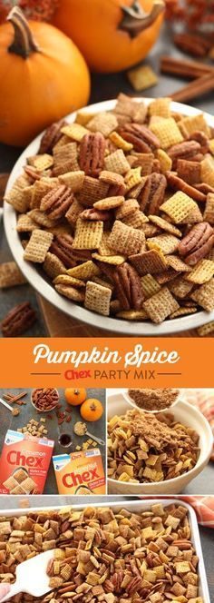 Pumpkin Spice Chex™ Mix images