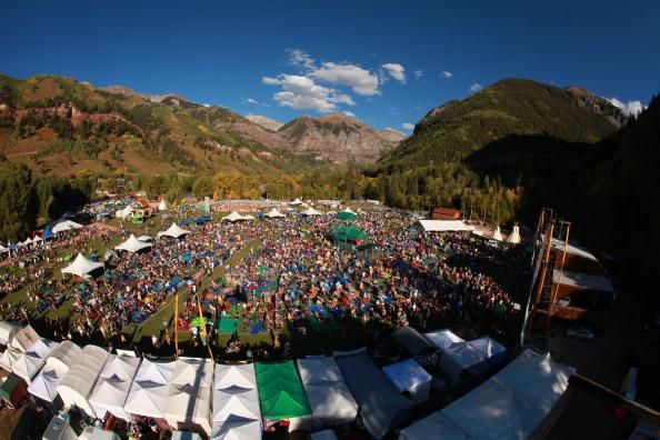 Telluride Blues and Brews Festival in early september
