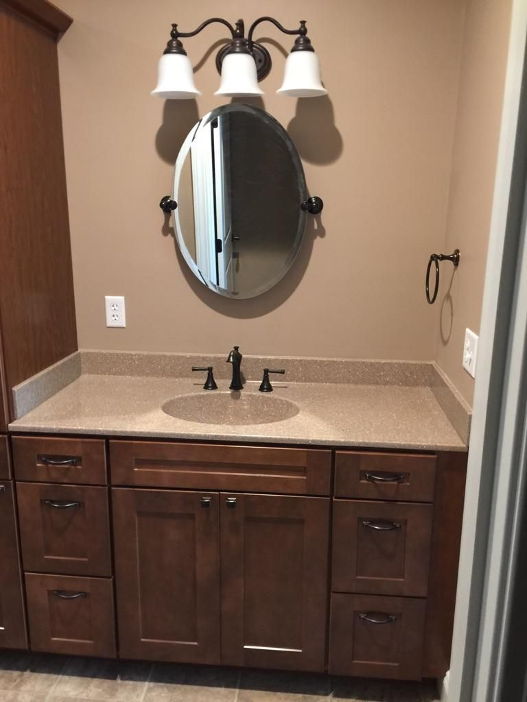 Beautiful bathroom vanity designed by our specialist Josh Dirr. For ...