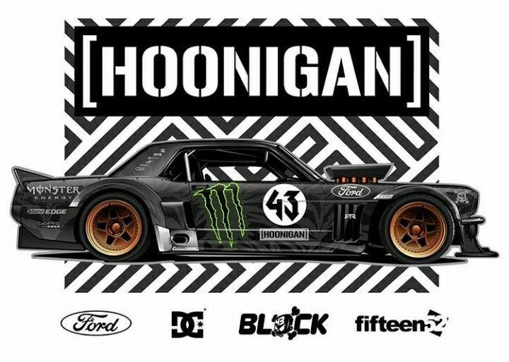 Hoonigan 4X4 Mustang