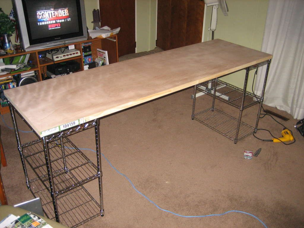 Cheap And Easy Desk Diy Corner Desk Diy Office Desk Homemade Desk
