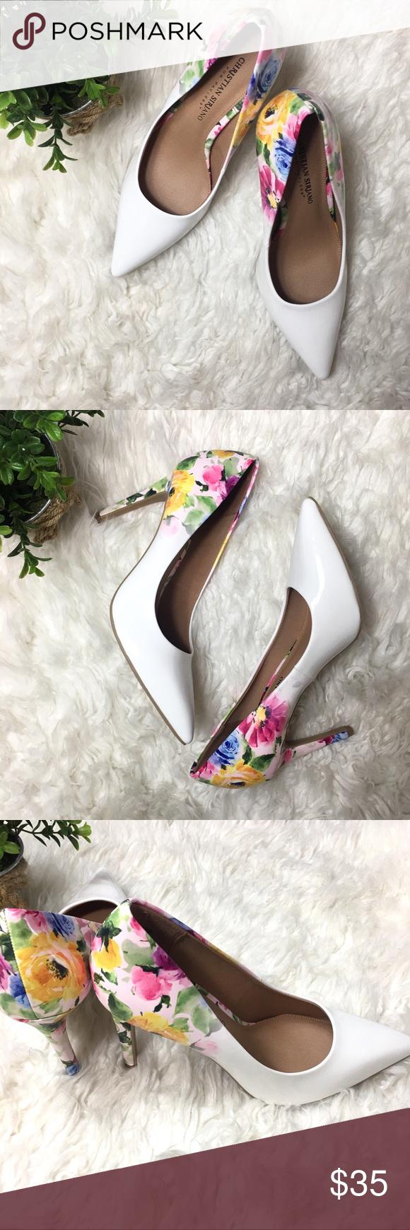Floral pumps, Pump shoes
