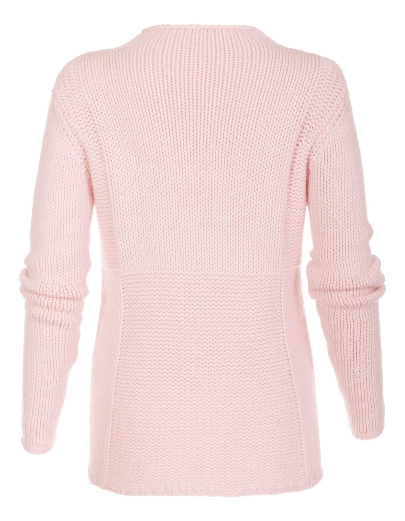 Jumper, pure cashmere in the colors powder rose, light taupe, mint green, wool white, grey - pink, taupe, green, white - in the MADELEINE online collection