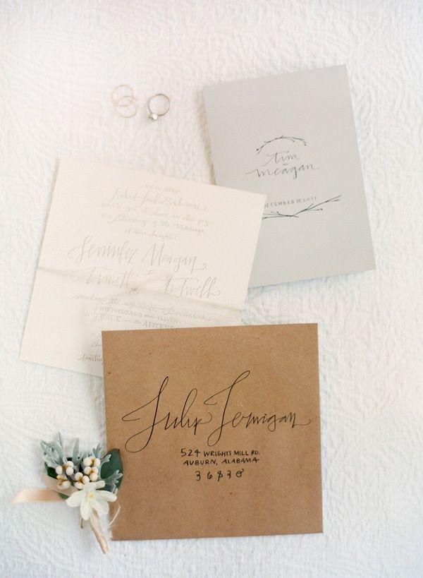 Wedding Ideas: letterpress-wedding-invitation-gray-winter-elegant ...