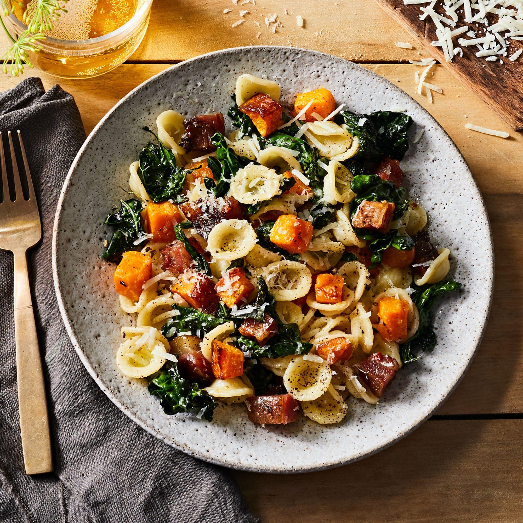 Fall Weeknight Pasta Recipe On Food52 Recipe Pasta Recipes Recipes Autumn Pasta Recipes