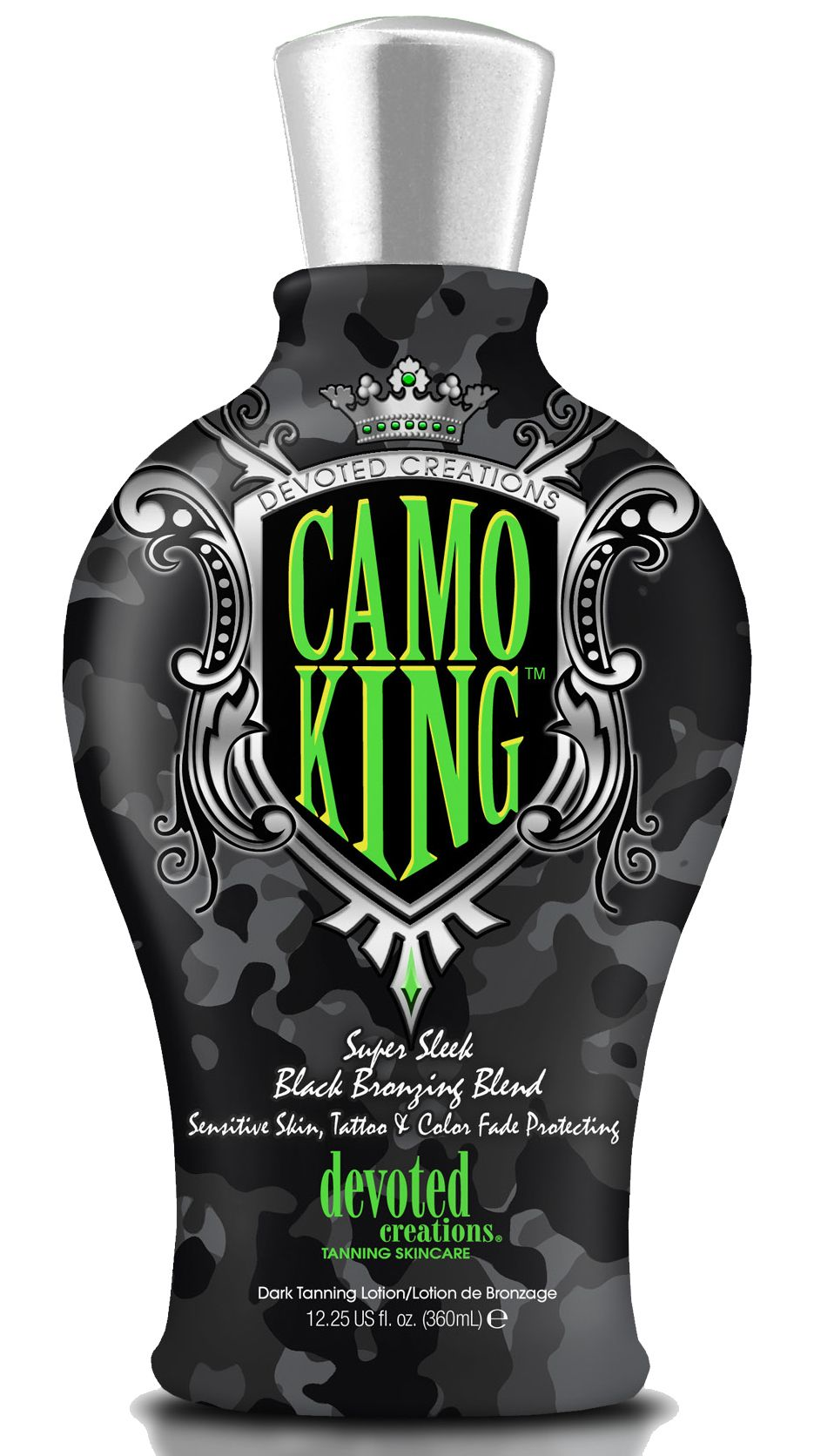 New from Devoted Creations, Camo King™ Super Sleek Black