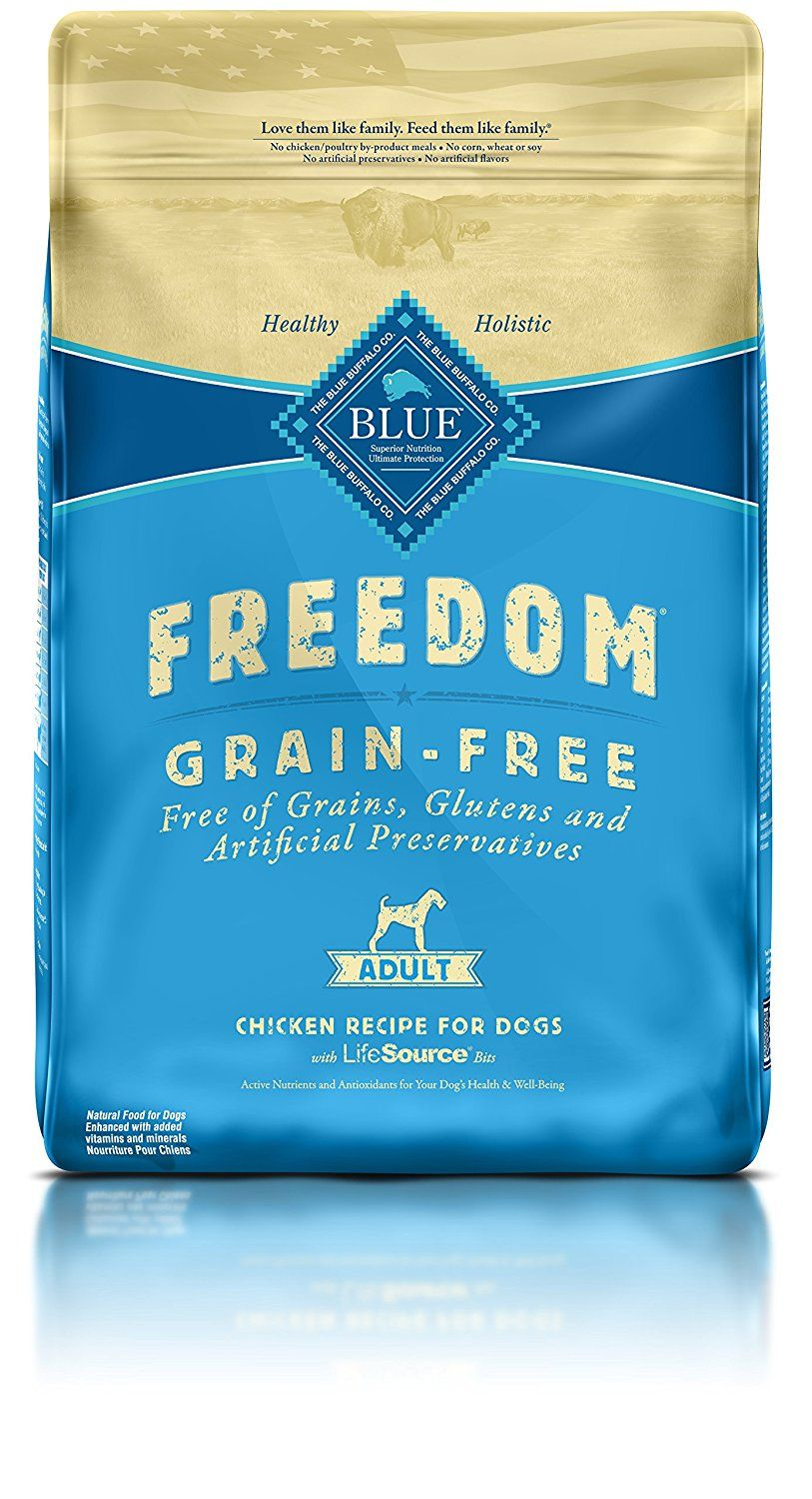 Blue Buffalo Freedom Grain Free Beef Dry Recipe For Dog Adult