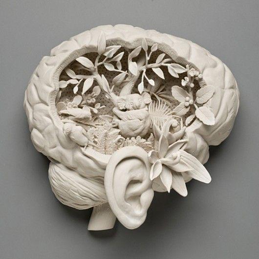 """kate macdowellson """"hybrid sculptures"""""""