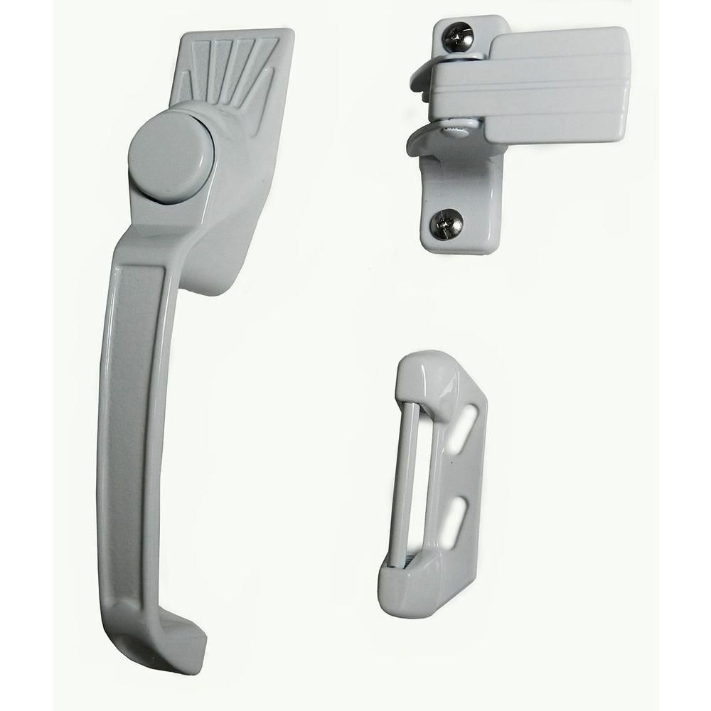white k knobs security with knob ideal whites strike accessories line in p the inside swinging screen latch door doors prime