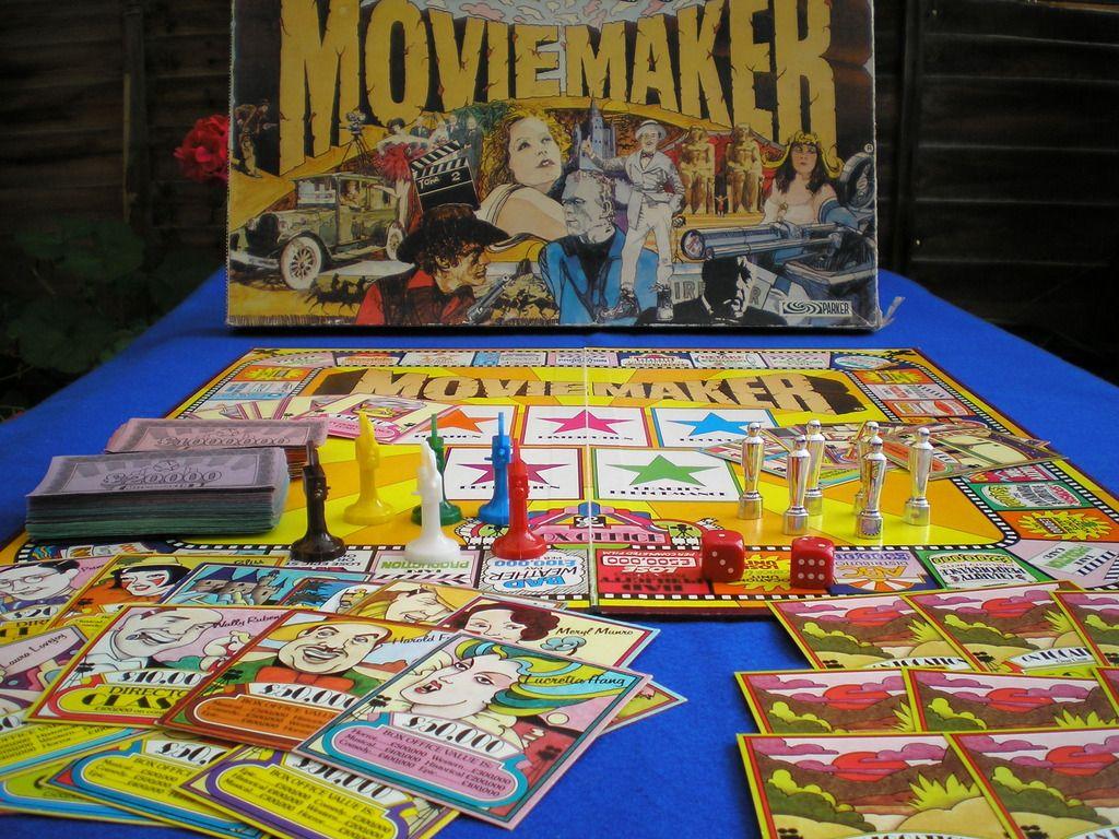 Movie Maker Board Game | Movie Maker board game | Pinterest