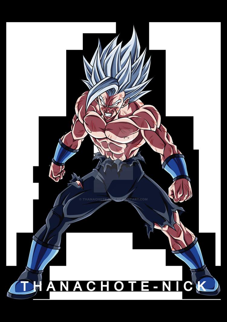 Oc Saiku Super Saiyan White Raiken Color By Thanachote Nick On Deviantart Dragon Ball Super Art Dragon Ball Super Manga Anime Dragon Ball Super