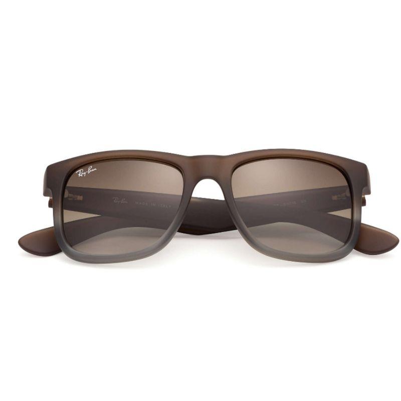 oculos masculino rb 4165 ray ban justin espelhado polarizado