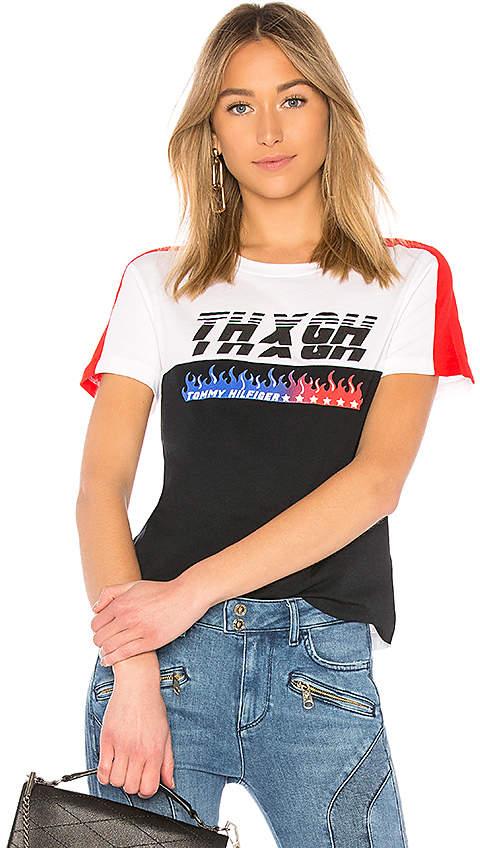 fecb244a8 Tommy Hilfiger TOMMY X GIGI Gigi Hadid Speed SS T Shirt