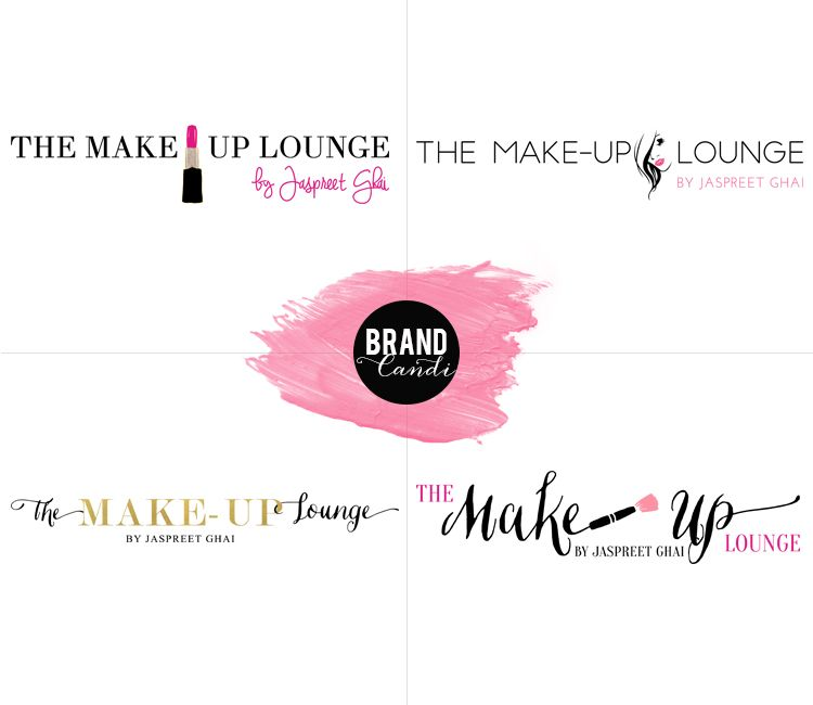 Logo Concepts for a beauty brand // By Brand Candi
