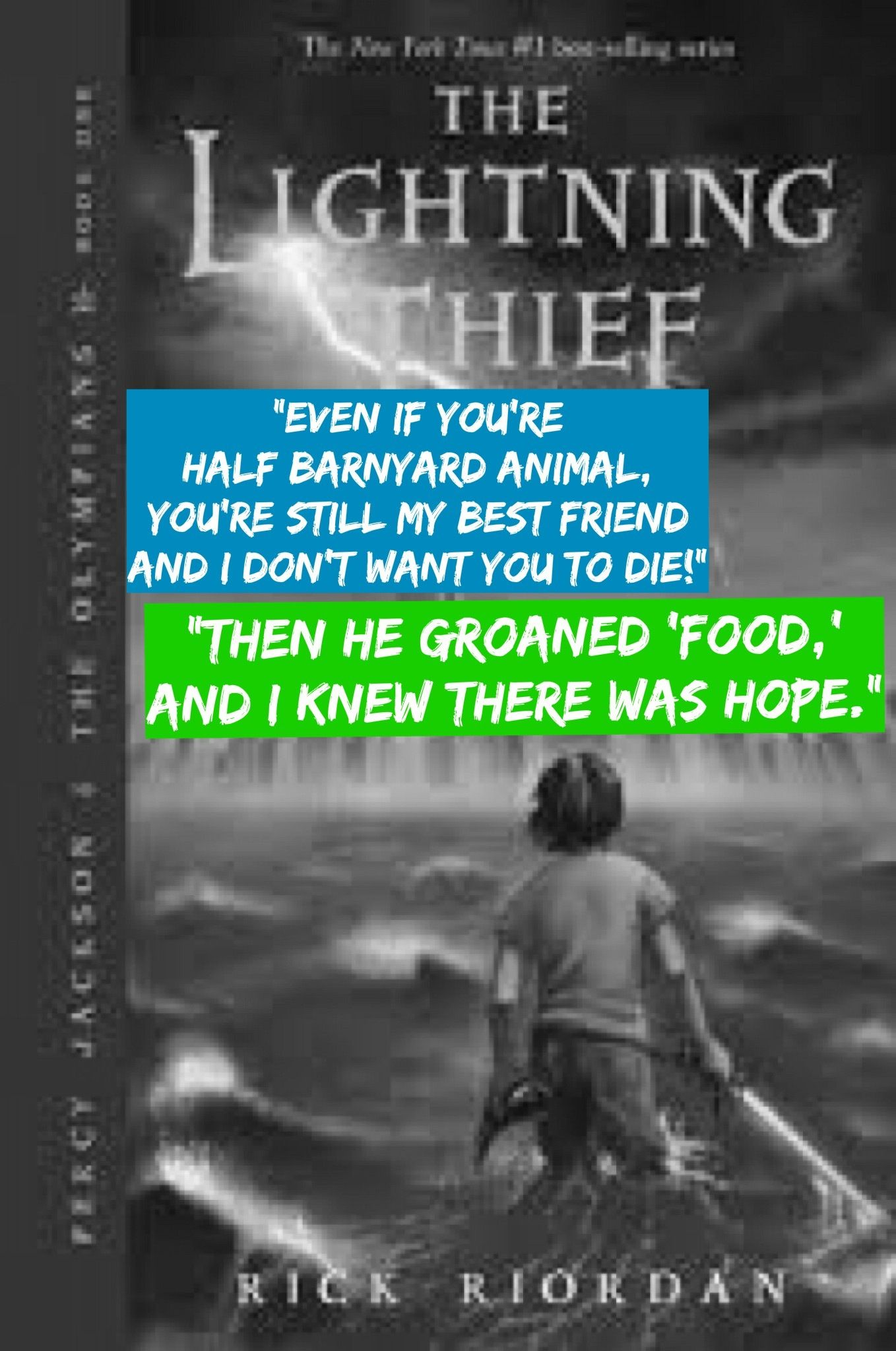 Excerpt From Rick Riordan S Percy Jackson Amp The Lightning